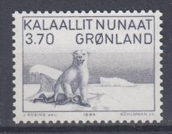 +Greenland 1984. Icebear (painting). AFA 147. MNH(**) - Ungebraucht