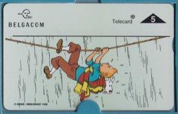 Tintin - 6ème Carte Téléphone - 6de Telefoonkaart - Belgacom 1996 - BD