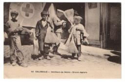 GRECE - SALONIQUE Vendeurs De Balais - Grecia