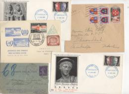 10 Lettres Et Cartes + 1 Cadeau Prix De Départ Sans Réserve 1€ Voir 2 Scan.  Bonnes Enchère              Lot Delc N°8 - Marcophilie (Lettres)