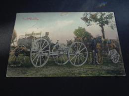 Armée ( 55 ) Belge   :  Artillerie Mitrailleuses - Manovre