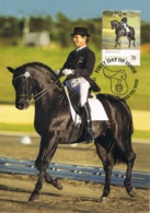 34675. Tarjeta Maxima WERRIBEE (australia) 2014. Sport HIPICA, Dressage, Cheval Horse - Reitsport