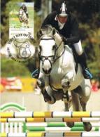 34676. Tarjeta Maxima WERRIBEE (australia) 2014. Sport HIPICA, Show Jumping, Salto, Cheval Horse - Reitsport