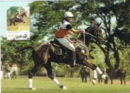 34677. Tarjeta Maxima WERRIBEE (australia) 2014. Sport HIPICA, PoloCrosse, Cheval Horse - Reitsport