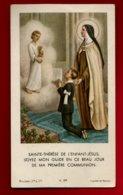 Image Pieuse Religieuse Holy Card Communion Guy Pargade 11-05-1961 Ed Bouasse Jeune K. 379 Sainte Thérèse Enfant Jésus - Imágenes Religiosas