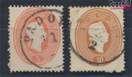 österr.-lombardie/vénétie 12-13 (complète.Edition.) Oblitéré 1861 Franz Joseph (8717258 (8717258 - Lombardo-Vénétie