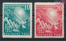 RFA (FR.Allemagne) 111-112 (complète.Edition.) Neuf Avec Gomme Originale 1949 Ouverture De Bundetages (931624 (9316240 - [7] Repubblica Federale