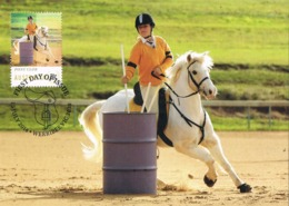 34678. Tarjeta Maxima WERRIBEE (australia) 2014. Sport HIPICA, Pony Club, Cheval Horse - Reitsport
