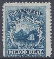 COSTA RICA  1862 1/2r Nº 1 (*) MNG - Costa Rica