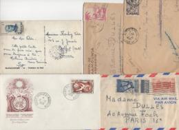 10 Lettres Et Cartes + 1 Cadeau Prix De Départ Sans Réserve 1€ Voir 2 Scan.  Bonnes Enchère              Lot Delc N°11 - France (ex-colonies & Protectorats)