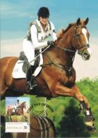 34679. Tarjeta Maxima WERRIBEE (australia) 2014. Sport HIPICA, Cross Country, Cheval Horse - Reitsport