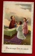 Image Pieuse Religieuse Holy Card Enfantine Communion Lucette Pargade 17-06-1962 - Pain Des Anges Pain Des Enfants - Imágenes Religiosas
