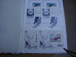 1 Petit Album De Stock De Timbres Belges - Verzamelingen