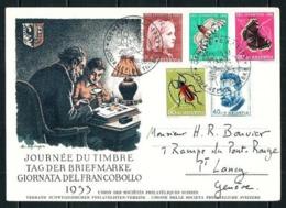 Suiza Nº 539/43 (S) Tarjeta Día Del Sello - Switzerland
