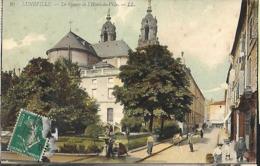 Lunéville      Le Square  De L' Hôtel  - De - Ville       CPA 1910 - Luneville