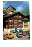 Cpm - Switzerland Andermatt -  Gasthaus Sternen - Voiture RENAULT 4L - AUSTIN MINI - MERCEDES - OPEL ? - Suisse