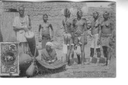 Soudan Musiciens Tam Tam  Et Balafonet Danseurs Des Environs De DJENNE - Sudan