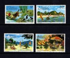 SAINT  VINCENT  AND  GRENADINES    1977    Prune  Islands   Set  Of  4    MNH - St.Vincent & Grenadines