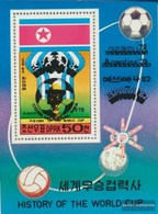 North-Korea A Block49 (complete Issue) Unmounted Mint / Never Hinged 1978 History The Football-WM - Korea (Nord-)