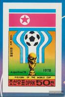 North-Korea 1745B (complete Issue) Unmounted Mint / Never Hinged 1978 History The Football-WM - Korea, North