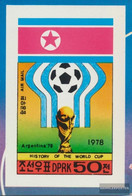 North-Korea 1745B (complete Issue) Unmounted Mint / Never Hinged 1978 History The Football-WM - Korea (Nord-)