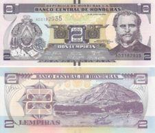 Honduras. Banknote. 2 Lempiras. Island. UNC. 2014 - Honduras