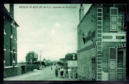 BERCK PLAGE 62 - Avenue De Boulogne - Tabac/Hotel/Restaurant - A725 - Berck