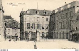 D72  LE MANS  Hôtel De Ville  ..... - Le Mans