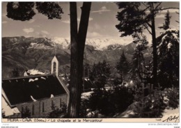 PEIRA-CAVA (A.M) - La Chapelle Et Le Mercantour  Editeur: ROBY  Carte écrite En 1955. 2 Scans - Altri Comuni