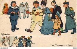 ILLUSTRATEUR H.GERVESE   Les Visteurs à Bord - Gervese, H.