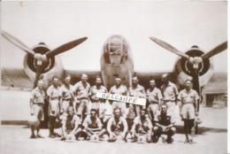 PHOTO AVION MARTIN 167  AVEC PILOT MECANO .... RETIRAGE       12X18CM - Aviazione