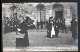 75, Paris, N°19, Les Journees Italiennes,Les Souvrains Quittent Le Palais De Versailles - Autres