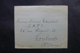 """ALLEMAGNE - Enveloppe Pour La France Avec Contrôle Postal Au Verso , """"  Kupferbergwerk Bor """" Au Verso - L 47550 - Allemagne"""