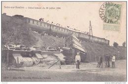 J14- SOLRE SUR SAMBRE (BELGIQUE) DÉRAILLEMENT  DU TRAIN DU 30 JUILLET 1906  - (ANMÉE)Solre-sur-Sambre - Erquelinnes