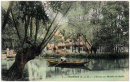 91 CROSNES - L'Yerres Au Moulin De Senlis - Crosnes (Crosne)