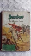 Junior  Les Grands Héros  Reliure Avec 9 Numéros  1952 - Boeken, Tijdschriften, Stripverhalen