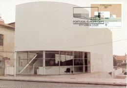 PORTUGAL. N°1699 De 1987 Sur Carte Maximum. Architecture Moderne. - Europa-CEPT