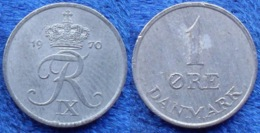 DENMARK - 1 øre 1970 KM# 839.2 Frederik IX (1947-1972) - Edelweiss Coins - Dinamarca