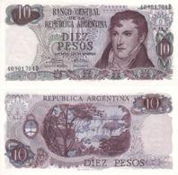 Argentina. Banknote. 10 Pesos. UNC. Belgrano - Argentine