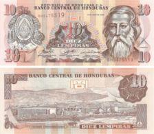 Honduras. Banknote. 10 Lempir. 2006. UNC - Honduras