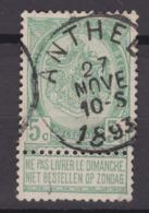N° 56 ANTHEE - 1893-1907 Coat Of Arms