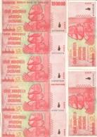 Zimbabwe 100000000 Dollars 2008 AXF (Price For 1 Banknote) AA S/N - Zimbabwe