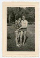 Homme Man Femme Woman Maillot Swimsuit Bain Sexy Couple Torse Nu 50s 60s - Personas Anónimos