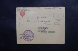 """ETATS UNIS - Enveloppe De Militaire Pour La France, Oblitération """" Military Postal Express """" En 1918 + Censure - L 47553 - Marcophilie"""