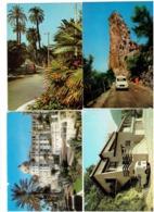 Lot 4 Cpm Voiture Gros Plan  - NICE - BRASSAC - CARRETERA DE SA CALOBRA - HYERES - 4L RENAULT - Passenger Cars