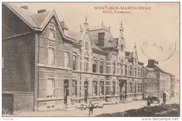 M27- MONT SUR MARCHIENNE - HOTEL COMMUNAL   - (2 SCANS) - Belgium