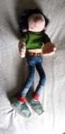 Peluche Gaston Lagaffe 65 Cm Franquin Spirou Terry Plüsh Soft Toy Cuddly - Other