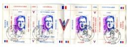 Thème Général De Gaulle - Carnet Mayer - Cote 50 Euros - GFDG 82 - De Gaulle (Generale)