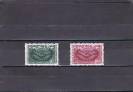 Marruecos Nº 486 Al 487 - Morocco (1956-...)