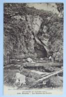 C. P. A. : 25 MOUTHE : La Source Du Doubs - Mouthe